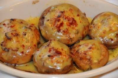 Crab stuffed mushrooms